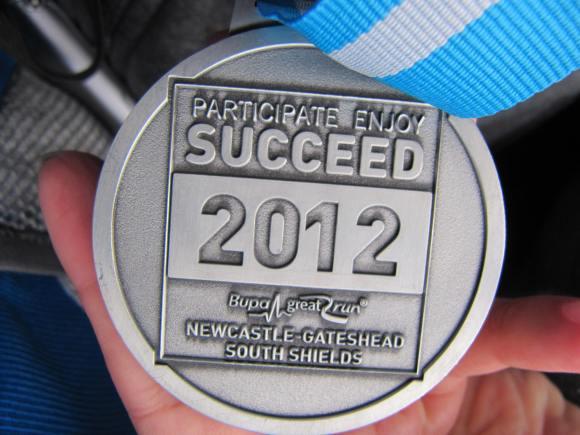 2012 GREAT NORTH RUN Half Marathon, NSPCC